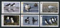 Isle of Man IOM 2017 MNH Coastal Birds Fulmar Razorbill 6v Set Ducks Stamps