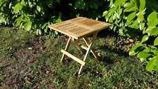 TEAK WOOD small foldable picnic table
