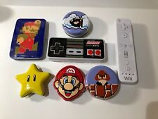 Boston America - Super Mario Bros Candy & Gum - SET OF 7 TINS