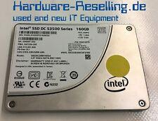 """Intel 160GB 6Gb/S 2,5 """" SATA SSD SSDSC2BB160G4 G86087-202 G67238-200"""