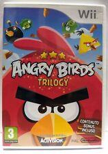 ANGRY BIRDS TRILOGY  (ENG+ITA) [Nintendo Wii ] Usato Garantito