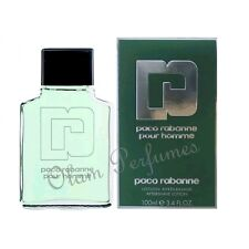 Paco Rabanne Pour Homme After Shave Lotion 3.4oz 100ml * New in Box *