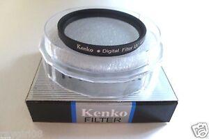 62mm Universal Circular Screw On DSLR SLR Camera Lens UV Filter w/ Storage Case