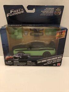 Fast & Furious 1/32 Dodge Challenger SRT8 Vehicle Kit by Mattel Factory Sealed