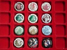 Série de plaques de muselet champagne / Yves JACQUES