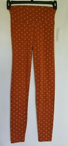 Charlotte Russe High Waisted Leggings Color Chedron Size S Juniors
