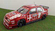 ALFA ROMEO 155 V6 TI NANNINI 1993 DTM ALFA CORSE 1/18 UT Md MINICHAMPS 180930120