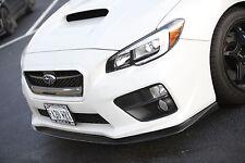 Subaru Sti Wrx mi 2015 Frontal Lip Spoiler / Divisor. Nuevo Estilo V2 Curvo htautos