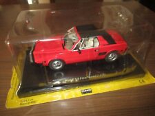 FIAT X 1/9 FIVE SPEED 1979 SCALA 1:24  QUATTRORUOTE COLLECTION IN BLISTER