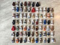 Personnages LEGO Star Wars (Minifig Figuren Figurine) vendu à l'unité avec arme