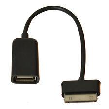 30 PIN A USB FEMMINA ADATTATORE un cavo OTG per Samsung Galaxy Tab
