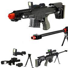 *315 FPS* Scout Sniper Tactical Airsoft Rifle M82a1 Gun M107 - RED-DOT -