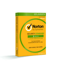 Norton Security Standard - 1 Device / 1-Year - Region: North America - CD