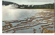 POSTCARD BISCUIT BASIN YELLOWSTONE NATIONAL PARK