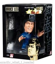 Bruce Lee Round 5 Blue Jump Suit Display Action Figure Collectable Toy 1 of 500