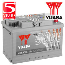 Yuasa Car Battery Calcium Black Case 12V 420CCA 50Ah T1 For Toyota Aygo 1.4 D-4D