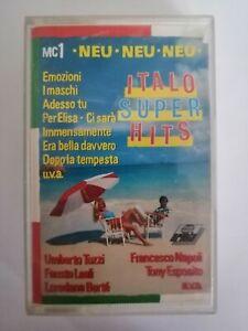 ITALO SUPERHITS ARIOLA MC1  Tape MC KASSETTE
