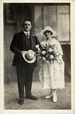 Gloucester photo. Wedding Couple by H.E.Jones, 73 & 75 Northgate St., Gloucester