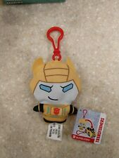 Transformers Backpack Clip Bots Plush Bumblebee to Car Reversible Soft NEW