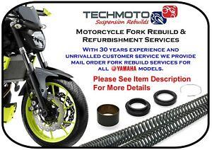 YAMAHA MT125 2015-2016 fork rebuild repair service suspension