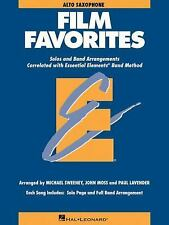 Essential  Elements Film Favorites E Flat Alto Saxophone-ExLibrary