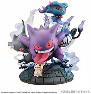 MegaHouse G.E.M.EX Series Pokemon Ghost Type Get Together! 160mm Figure Japan