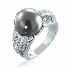 Pearl Simulated Cubic Zirconia Costume Jewellery