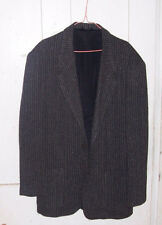 CITY STREETS Men's Size M Tweed-style Jacket Sports Coat Black / Gray CASUAL