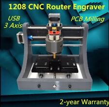 CNC 1208 USB Fräse Router Maschine Kit Graviermaschine Fräsmaschine Mini Mill DE