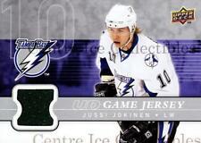 2008-09 Upper Deck Jersey Series One #GJJO Jussi Jokinen