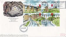 1989 Archeology (Miniature Sheet) - RM - Collect Stamps, Bradford Slogan