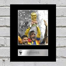 Hugo Lloris Signed Mounted Photo Display France World Cup