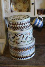 Emma Bridgewater British Birds RARE Complete Set of 3 Round Tins Vintage 2007