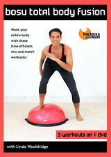 BOSU BALANCE TRAINER EXERCISE DVD - Barlates Body Blitz BOSU TOTAL BODY FUSION!
