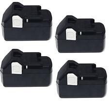 4x For Hitachi 18V 4.0AH BSL1850 BSL1830 BSL1815X 330139 33055 Li-ion Battery