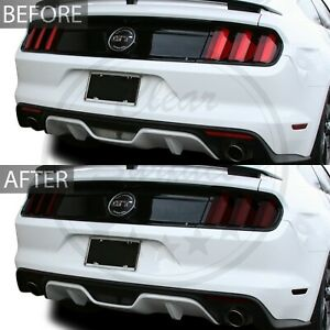 Fits 15-17 Ford Mustang Complete Head Tail Light Smoke Tint Kit Cover Accessory