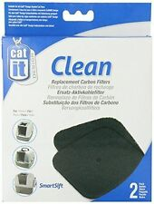 HAGEN CAT IT CATIT CLEAN REPLACEMENT CARBON FILTERS 2 PK  ALL CATIT HOODED 50705