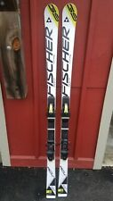 Fischer RC4 Jr GS Race Skis 160cm with Fischer Z9 Bindings 17m Radius