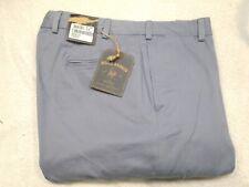 Bills Khakis M2 Vintage Twill Flat Front Khaki Pants NWT 38 Waist Unhemmed $155