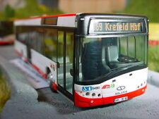 Solaris U12-SWK Krefeld Wagen 5480 Linie 069 Krefeld Hbf.- Hüls - Kempen Bahnhof