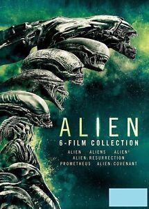 Alien 6 film Collection (Sigourney Weaver John Hurt) Region 2 DVD Boxset