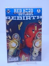 RED HOOD AND THE OUTLAWS #1 DC UNIVERSE REBIRTH VF/NM CB274