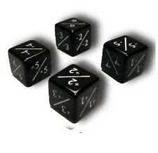 2x MTG -1/-1 Counter Dice and 2x +1/+1 Counter Dice Flipside