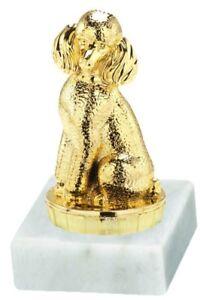 Hunde-Pokal (Pudel) mit Ihrer Wunschgravur (P049)