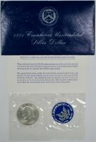 1971-S Uncirculated 40% Silver Eisenhower IKE Dollar Coin Mint Packaging UNC
