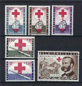 [LK9530] Belgium N°1096/1101 Red Cross MNH ** COB € 27,50 SUPERB
