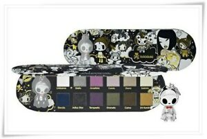 TOKIDOKI ~ 24 Karat Skate Deck ~ Eyeshadow Palette ~ Adios Figurine ~ SEALED!