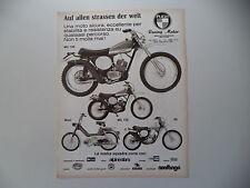 advertising Pubblicità 1975 MOTO PUCH MC 125/MC 175/MAXI/50 GS