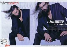 COUPURE DE PRESSE CLIPPING 2010 SEBASTIEN CHABAL  (6 pages)
