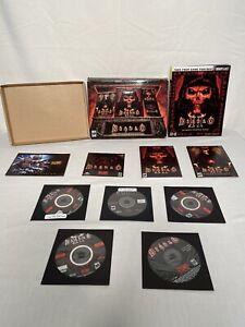 Diablo 2 II Battle Chest 2001 Blizzard Game Guide Expansion Pack PC Mac Complete